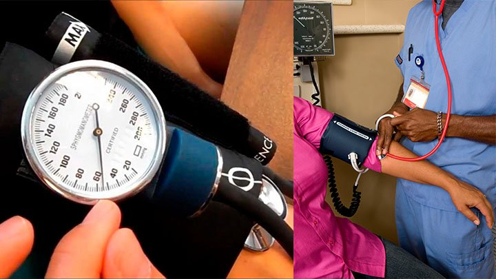 How to Record and Measure the Blood Pressure of a Patient